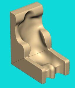 Stizschale 3D Modell